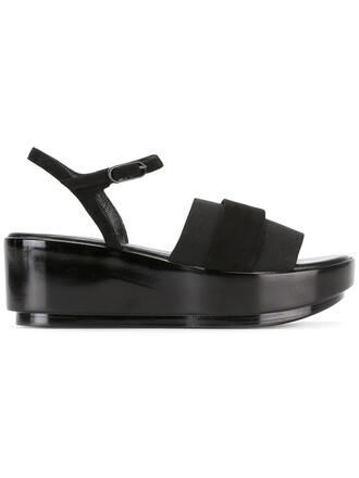 women spandex sandals leather suede black shoes