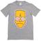Bart simpson satanic grey t-shirt - basic tees shop
