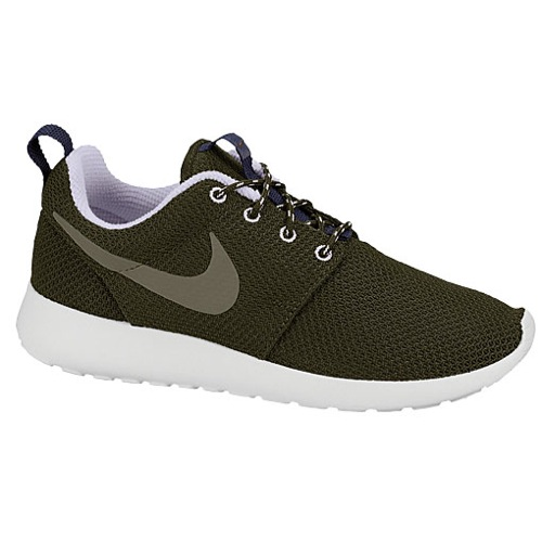 Nike Roshe Run - Women's - Running - Shoes - Dark Loden/Violet Frost/Brave Blue/Medium Olive