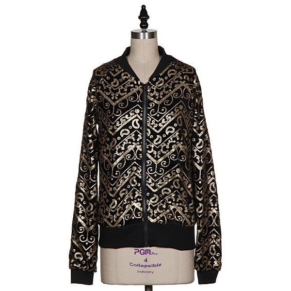 Gold Baroque Jacket | Vanity Row