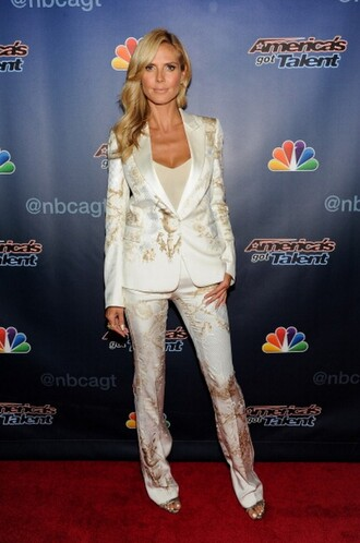 jacket shoes heidi klum sandals pants