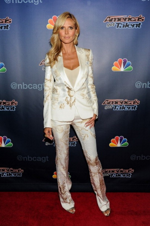 shoes heidi klum sandals jacket pants