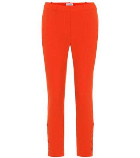 Altuzarra red pants