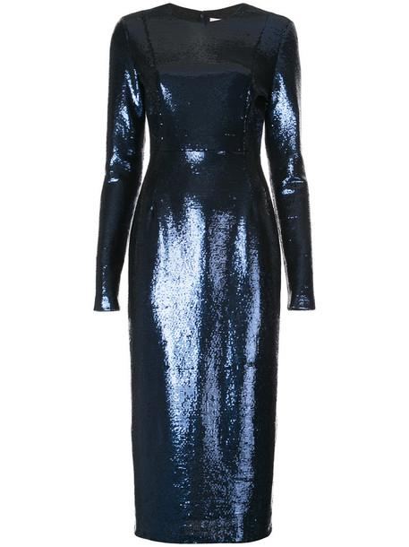 Dvf Diane Von Furstenberg dress sequin dress women blue