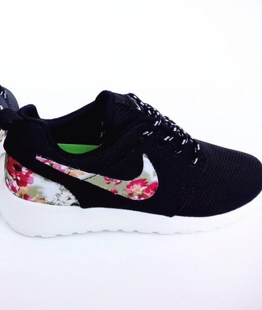 shoes black nike roshe nike