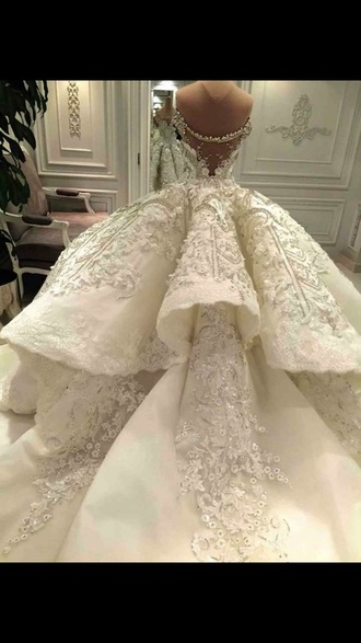 dress wedding dress wedding prom dress ball gown princess dress
