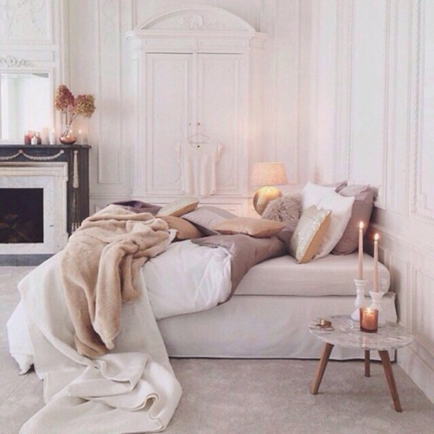 Home Accessory Bedding Neutral Set Classy Cute Bedroom