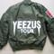 Yeezus ma1 flight bomber jacket | black / green