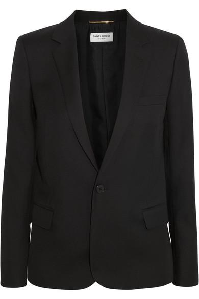 Gabardine blazer