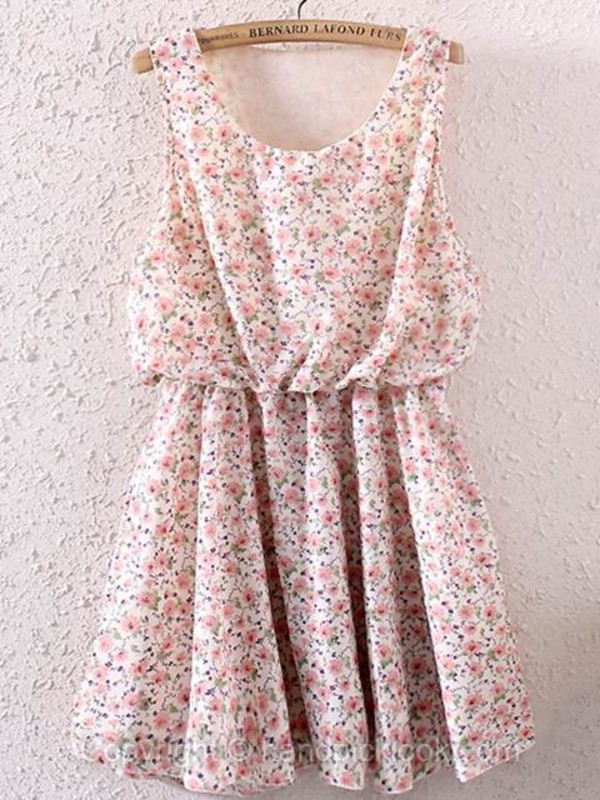 pink dress floral dress short dress floral pastel pink dress