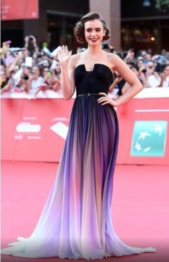 dress purple dress purple ombre