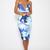 Balmain Dress - Blue Print