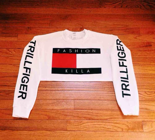 top tommy hilfiger crop tommy hilfigerTommy Hilfiger Crop Top