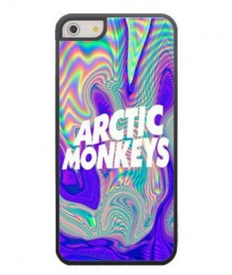 phone cover iphone case arctic monkeys holographic fashion style cool trendy it girl shop