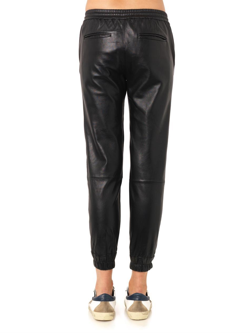 Jadyn leather trousers | Paige Denim | MATCHESFASHION.COM