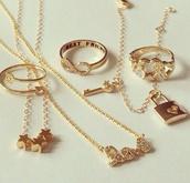 jewels,gold,stars,infinity,necklace,bracelets,similar