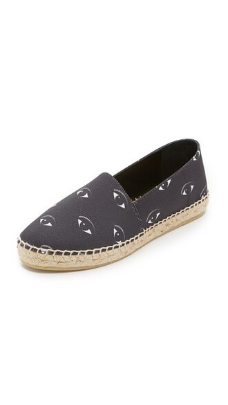 eyes noir espadrilles shoes