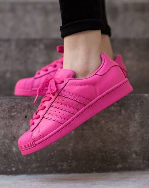 shoes pink joggers adidas sneakers rubber shoes hipster workout exercise  shoes c535641075e0