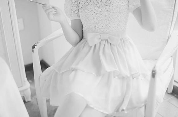 wedding dress pastel ulzzang