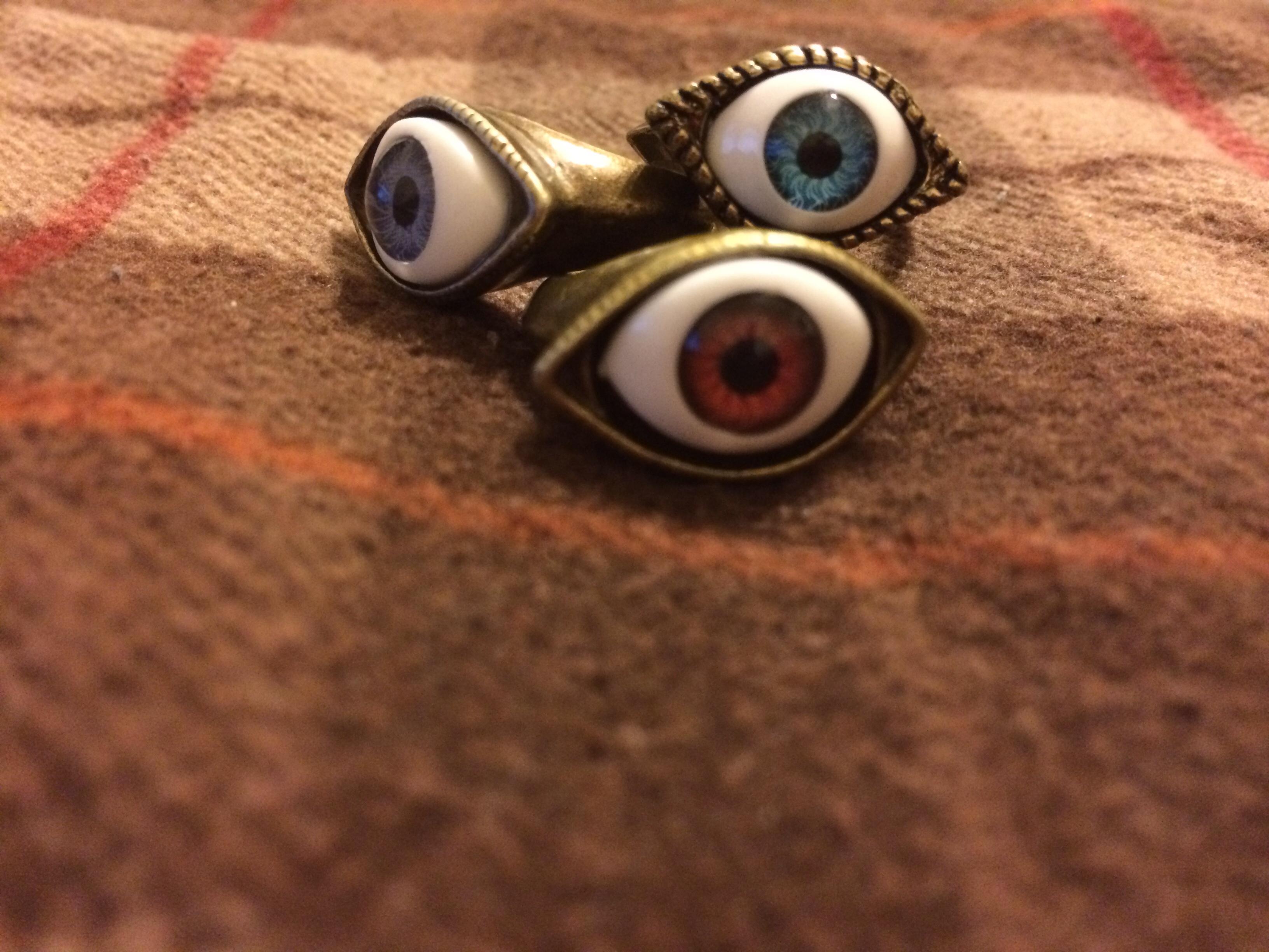 Eye rings · radtrash · online store powered by storenvy