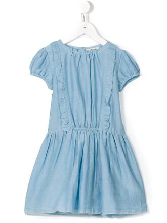dress girl blue