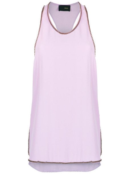 top embellished top women embellished purple pink