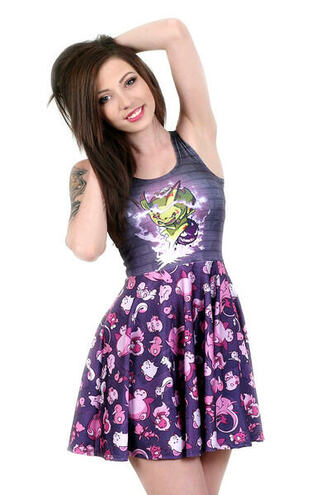 pokemon skater dress