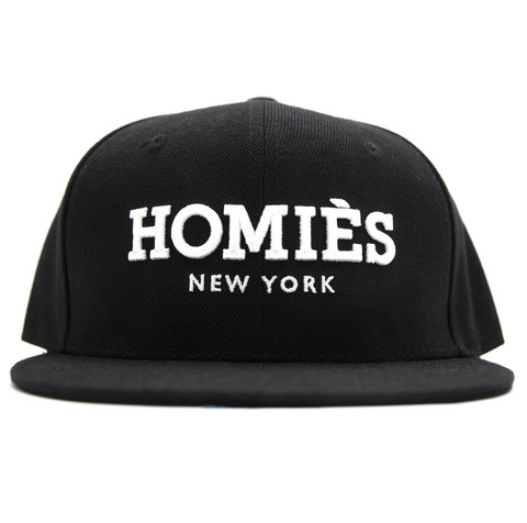Homiès new york snapback cap
