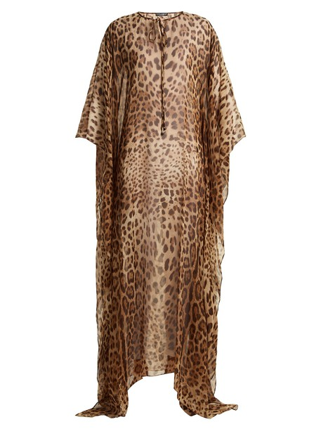 Dolce & Gabbana print silk top