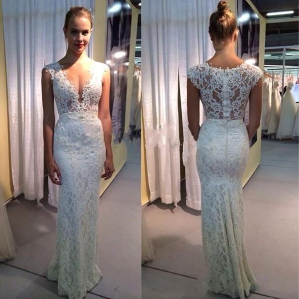 Dress Berta Bridal Lace Wedding Dress