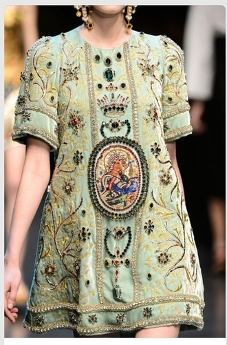 dress jewelled pale green embroidered t-shirt dress formal