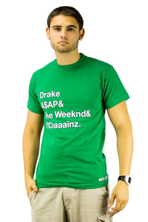 Drake And ASAP And The Weeknd And 2Chaaainz T-shirt Trendy Tee Shirts