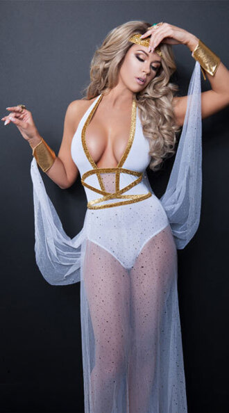 dress starline yandy greek goddess halloween halloween costume sheer dress white sexy halloween accessory