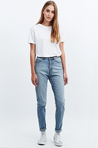 Monday Donna Mid Blue Straight Leg Jeans - Urban Outfitters