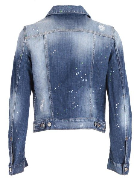 Dsquared2 jacket blue