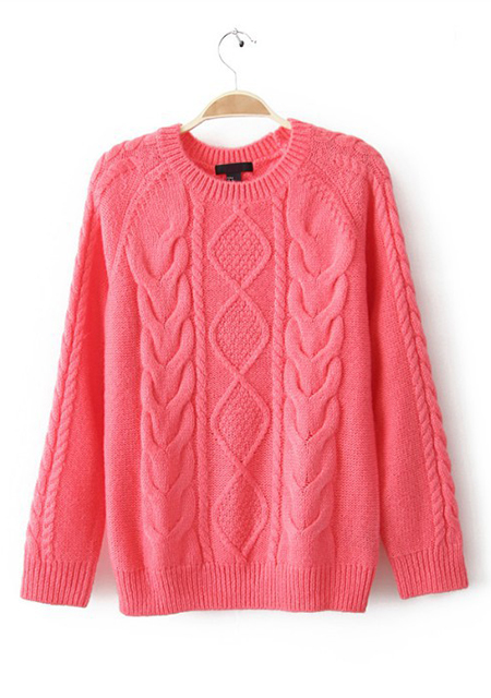 Neck knitwear long sleeve sweater online