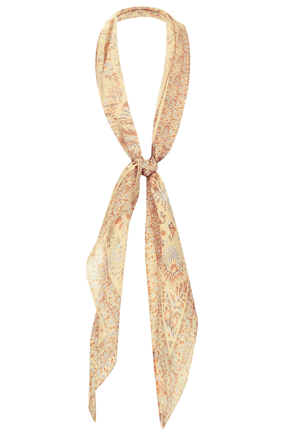 **paisley print chiffon scarf by kate moss for topshop