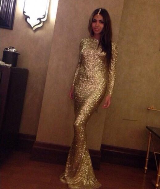 dress gold glitter dress gold dress jewels