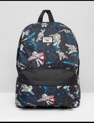 bag buzz lightyear toy story backpack vans cute vans backpack