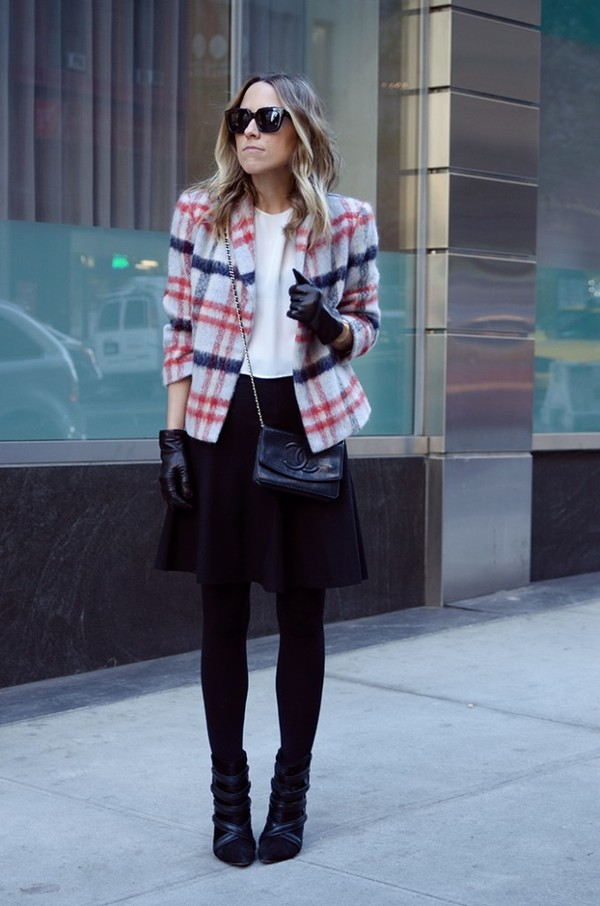 damsel in dior skirt t-shirt jacket jewels