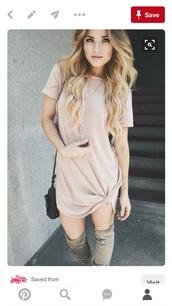 dress,tshirt dress,tee shirt dresses,shirt dresses,pink dress,baby pink dress,cute,short dress,casual