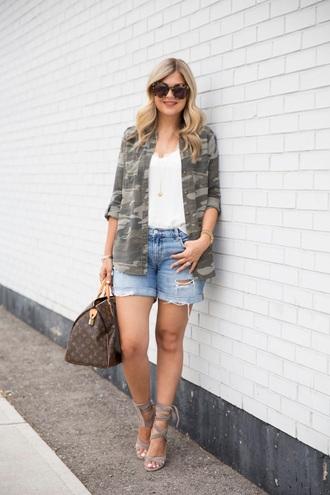 suburban faux-pas blogger shirt tank top shorts shoes bag sunglasses jewels