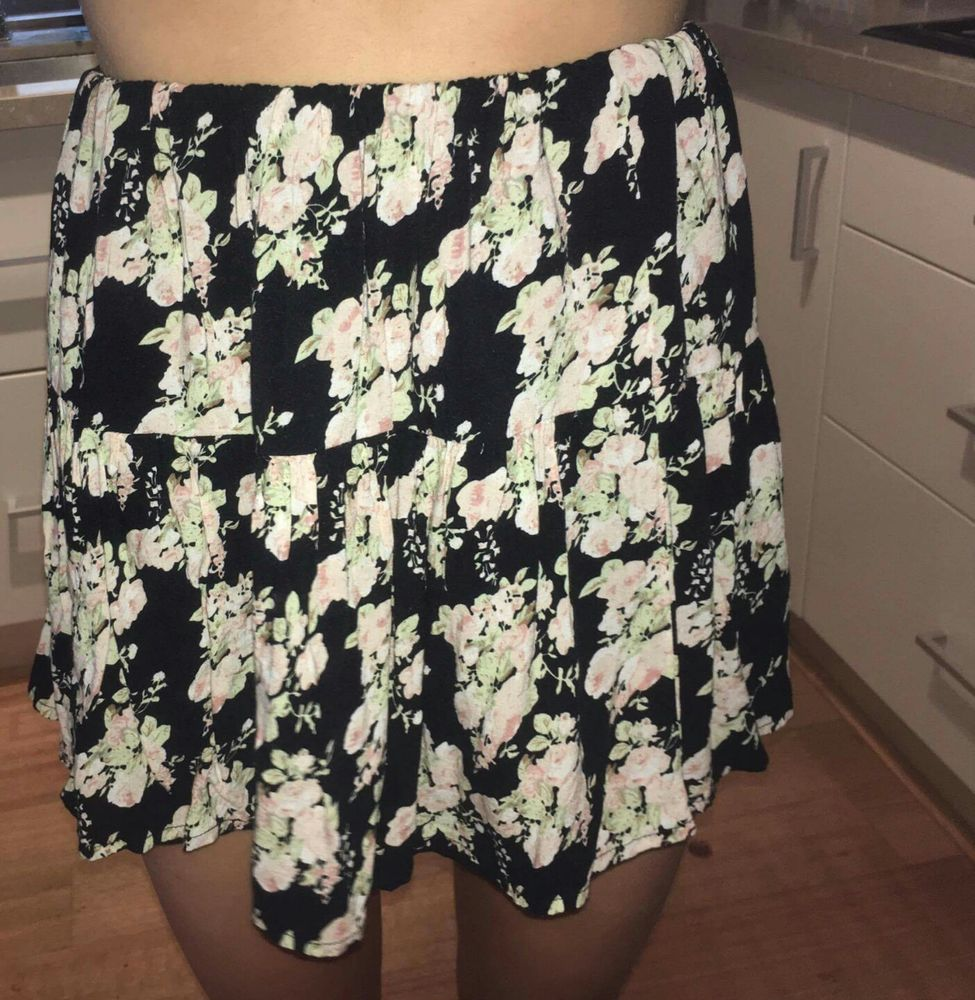 Floral skirt from Cotton On size small