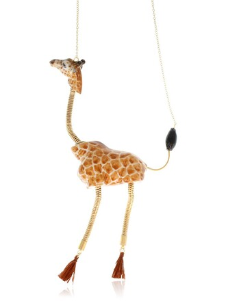 giraffe necklace jewels