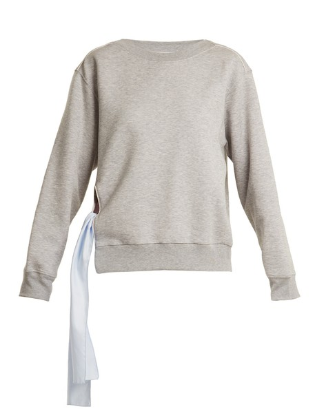 Stella McCartney sweatshirt cotton grey sweater