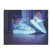 silver platforms,platform shoes,new balance,platform sneakers,platform sandals