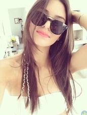 sunglasses,kendall jenner,beach,summer,shirt