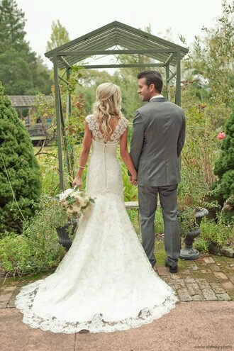 dress ivory dress wedding dress