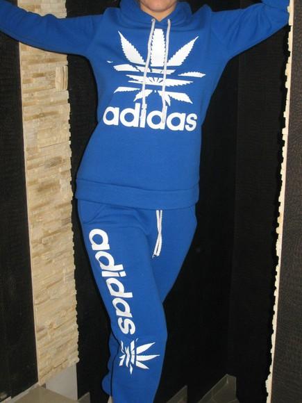 sweater pants jumpsuit adidas tracksuit sportswear hoodie tracksuit bottoms swag marijuana