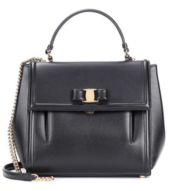 Salvatore Ferragamo bag shoulder bag leather black